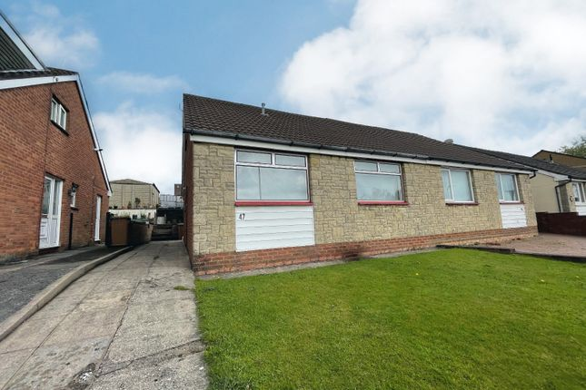 Thumbnail Semi-detached house for sale in Forest Avenue, Cefn Hengoed, Hengoed