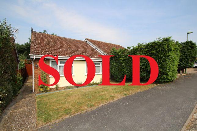 Semi-detached bungalow for sale in Tippett Avenue, Stowmarket