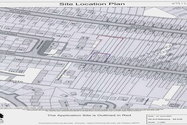 Thumbnail Land for sale in Grove Street, New Balderton, Newark