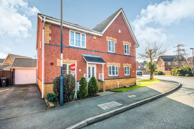 2 bed semi-detached house for sale in Kenilworth Crescent, Walsall