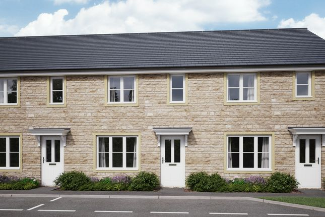 Thumbnail Terraced house for sale in Oxlease Way, Paulton, Somerset