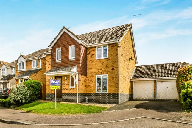 Thumbnail Detached house for sale in Barnwell Close, Thrapston, Kettering
