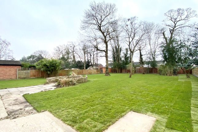 Rear Garden of Reading Road, Woodley, Berkshire RG5