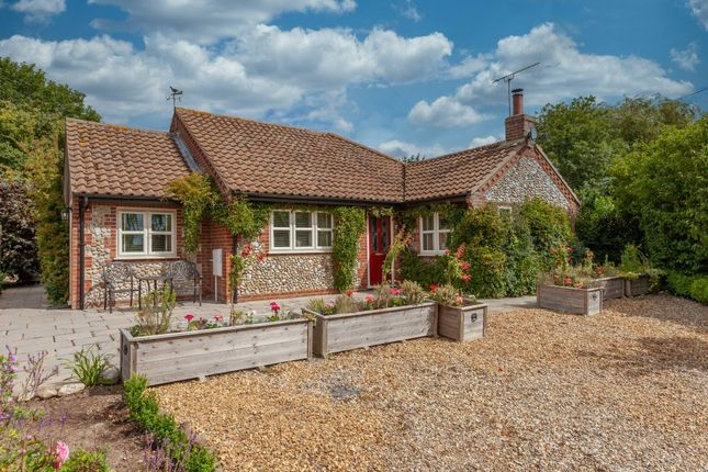 Thumbnail Detached bungalow for sale in The Street, Thornage, Holt