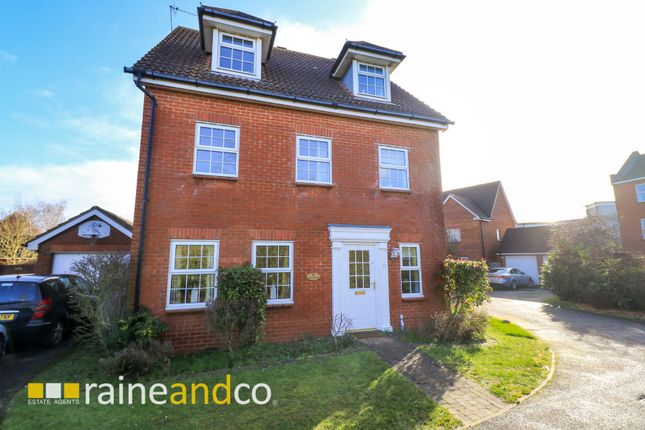Thumbnail Detached house for sale in Nimrod Drive, Hatfield