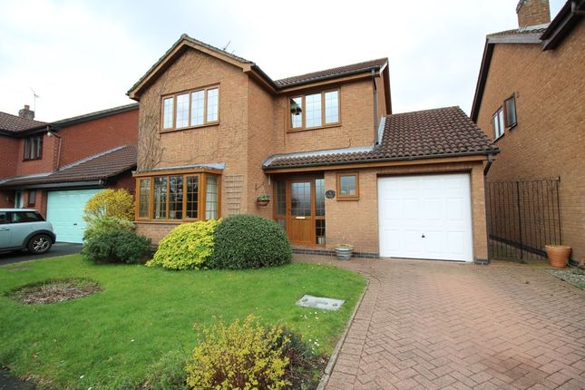 Thumbnail Detached house for sale in The Willows, Bedworth
