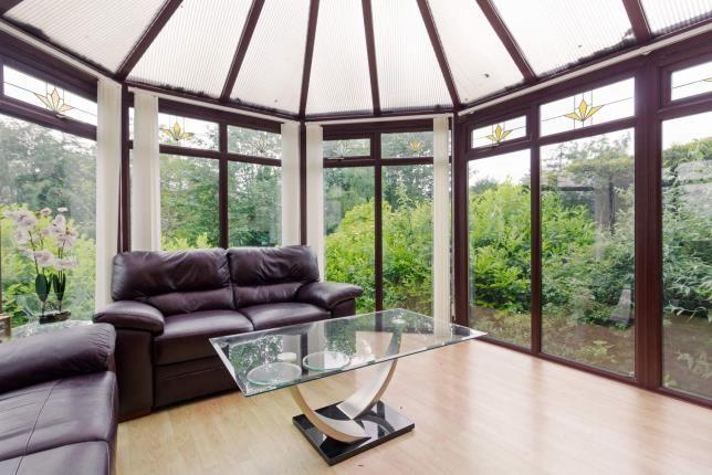 Conservatory of Millfield View, Erskine, Renfrewshire, . PA8