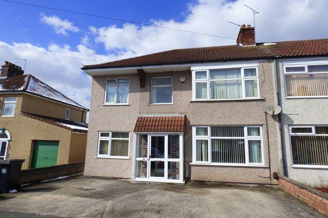 Thumbnail Semi-detached house to rent in Savoy Road, Brislington Bristol