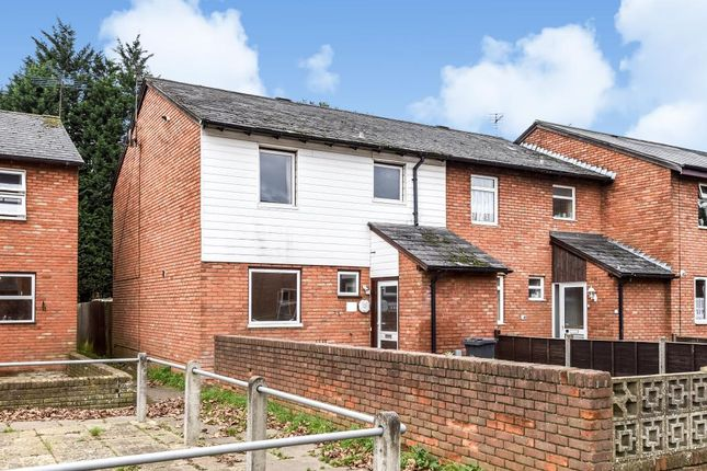 Thumbnail End terrace house to rent in Alsace Walk, Camberley