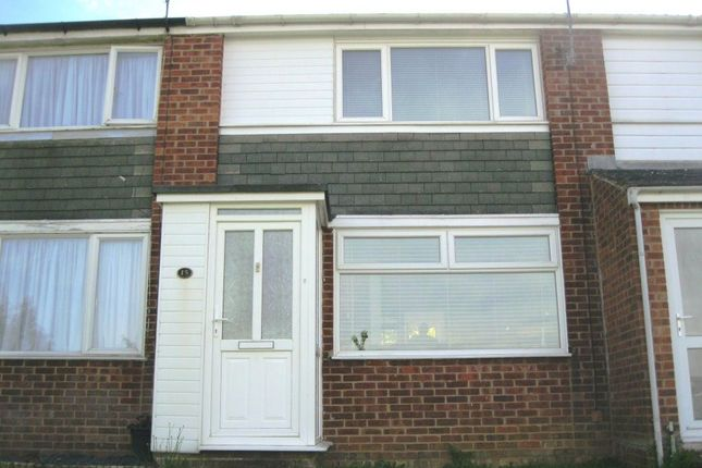 Thumbnail Terraced house to rent in Carew Walk, Rugby