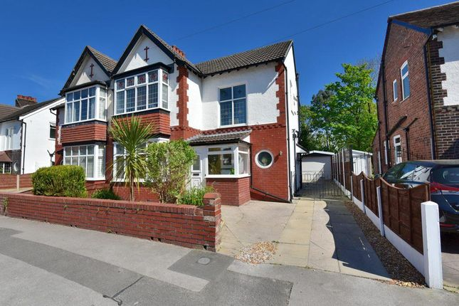 Thumbnail Semi-detached house for sale in Curzon Road, Offerton, Stockport