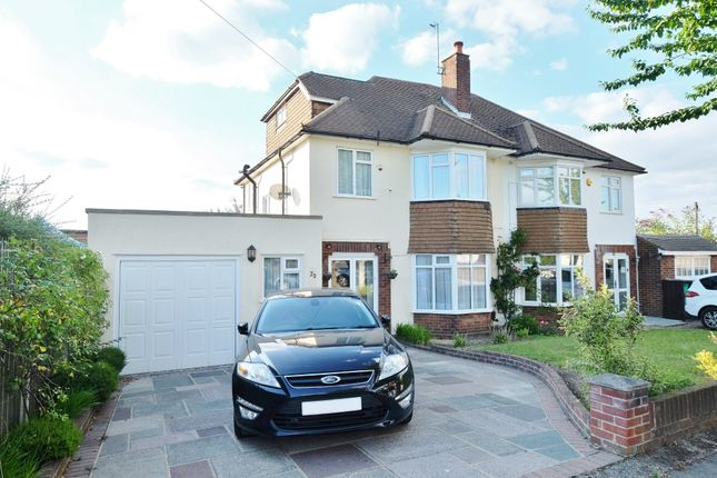 Thumbnail 4 bed semi-detached house for sale in Sandhurst Road, Orpington