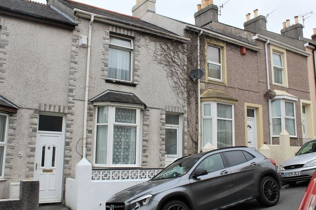 Thumbnail Terraced house to rent in Hanover Road, Plymouth