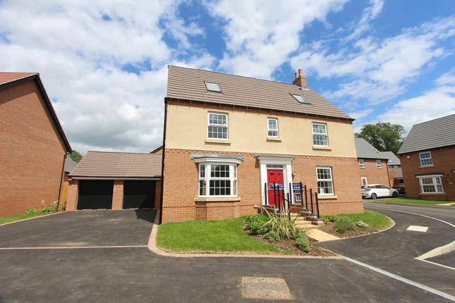 Thumbnail Detached house for sale in Welbeck Avenue, Burbage, Hinckley