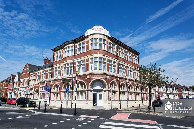 Thumbnail Terraced house to rent in Grosvenor House, Splott, Cardiff