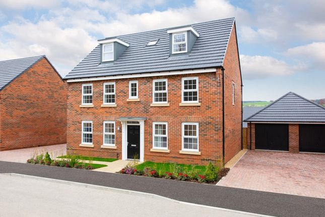 "Thumbnail Detached house for sale in ""Buckingham"" at Station Road, Langford, Biggleswade"