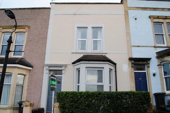 Thumbnail Terraced house to rent in Hawthorne Street, Totterdown, Bristol