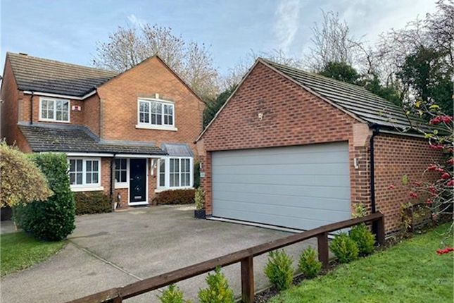 Thumbnail Detached house for sale in Cordonnier Close, Broughton Astley, Leicester