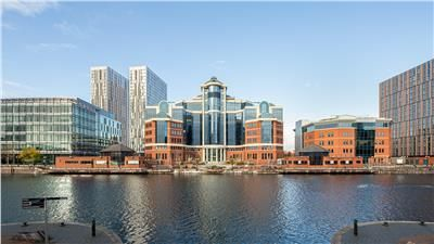 Office to let in The Alex, The Quays, Salford Quays