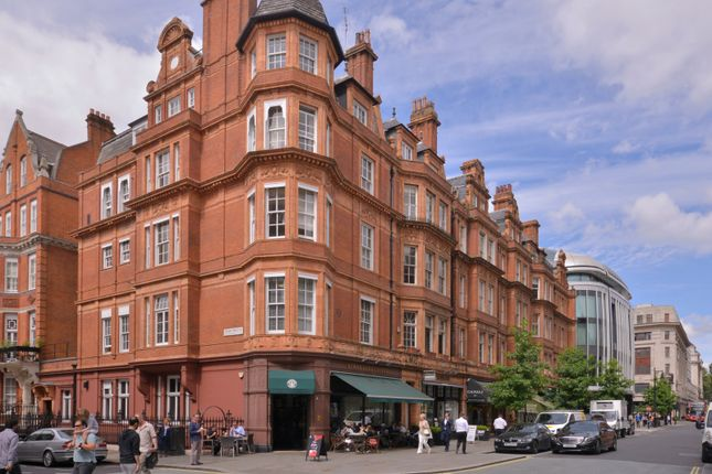 Exterior of North Audley Street, London W1K