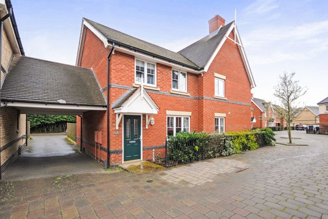 Thumbnail Semi-detached house for sale in Shimbrooks, Great Leighs, Chelmsford