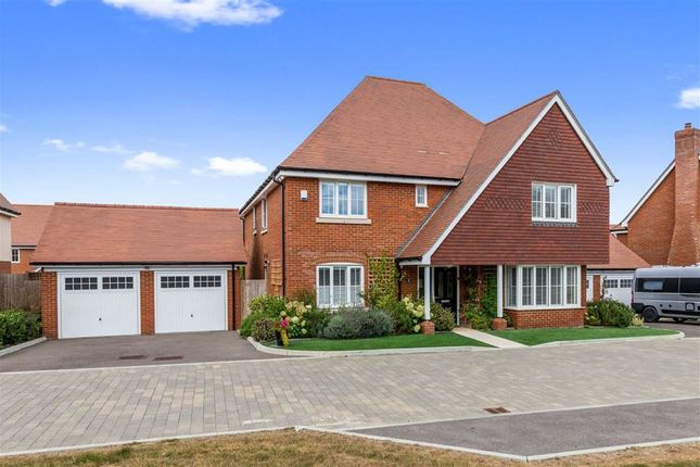 Thumbnail Detached house for sale in Augustine Drive, Finberry, Ashford