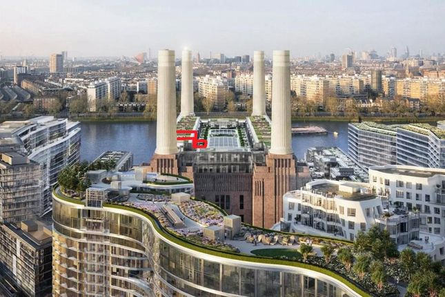 Thumbnail Flat for sale in Boiler House Square, Battersea Power Station, Nine Elms, London
