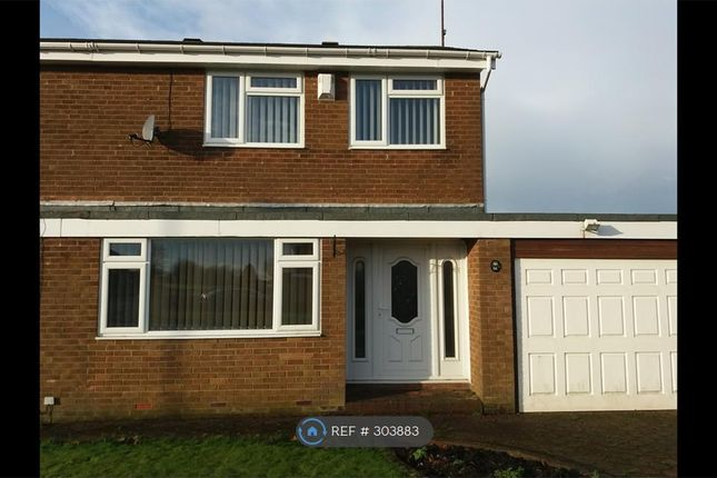 Thumbnail Semi-detached house to rent in Newlyn Drive, Cramlington