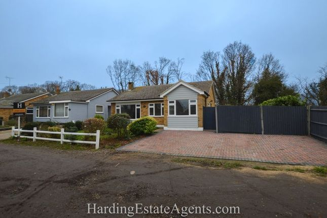 Thumbnail Detached bungalow for sale in White Hart Lane, Hockley, Essex