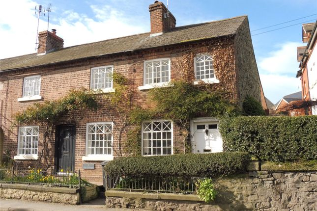 Thumbnail End terrace house for sale in Rose Cottages, Llansantffraid, Powys