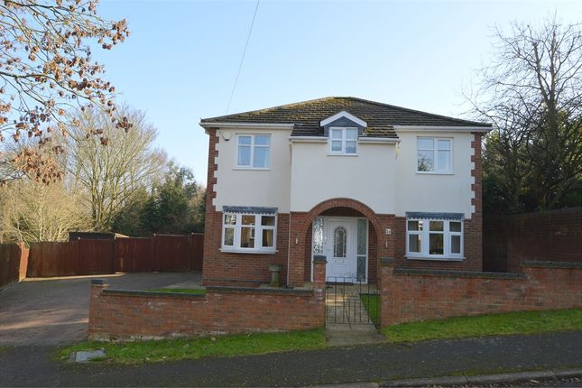Thumbnail Detached house for sale in Burford Avenue, Abington, Northampton