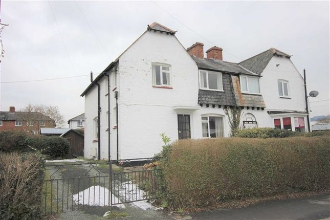 Thumbnail Terraced house for sale in 6, Erw Wen, Welshpool, Powys