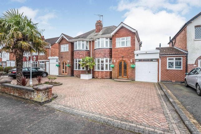 Thumbnail Semi-detached house for sale in Keswick Road, Solihull