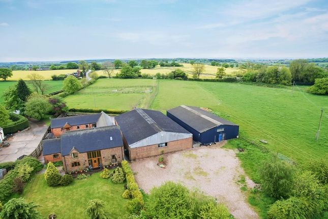 Thumbnail Barn conversion for sale in Birchley Heath, Nuneaton