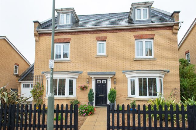 Thumbnail Detached house for sale in Barkway Drive, Locksbottom, Orpington