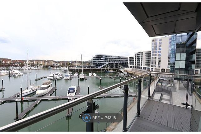 Thumbnail Flat to rent in Admirals Quay, Southampton