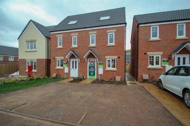 Thumbnail Semi-detached house for sale in Off Shelton New Road, Basford, Stoke-On-Trent