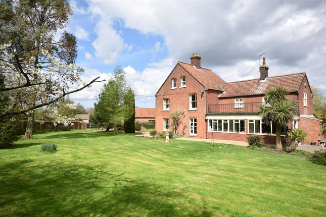 Thumbnail Detached house for sale in Briningham, Melton Constable, North Norfolk
