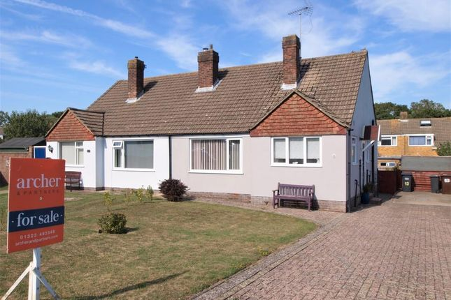 Thumbnail Semi-detached bungalow for sale in Malcolm Gardens, Polegate