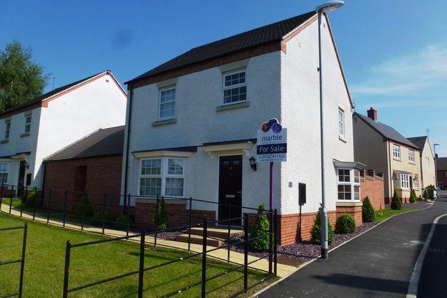 3 bed link-detached house to rent in Spitfire Road, Castle Donington, Derby