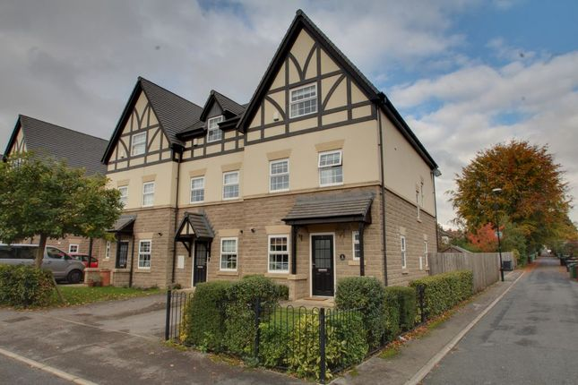 Thumbnail Town house for sale in Devonshire Crescent, Roundhay, Leeds