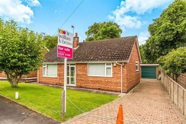Thumbnail Detached bungalow for sale in The Paddock, Shepshed, Loughborough