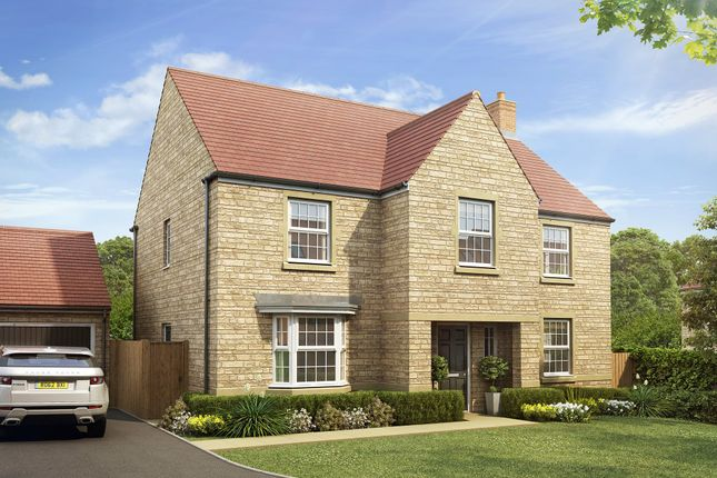"Thumbnail Detached house for sale in ""Winstone"" at Warminster Road, Beckington, Frome"