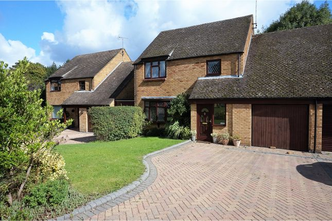 Thumbnail Link-detached house for sale in Coleridge Avenue, Yateley