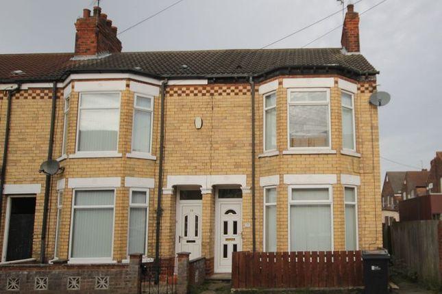 Thumbnail Terraced house to rent in Swinburne Street, Hull