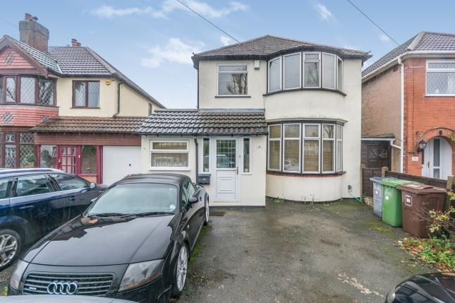 Thumbnail Detached house for sale in Delrene Road, Shirley, Solihull, West Midlands
