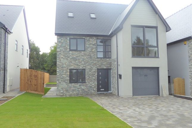Thumbnail Detached house for sale in Waterton Lane, Waterton, Bridgend.
