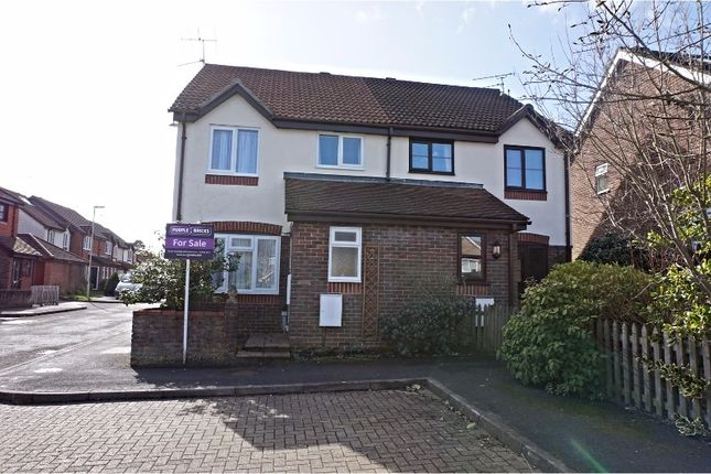 Thumbnail Semi-detached house for sale in Blue Timbers Close, Bordon