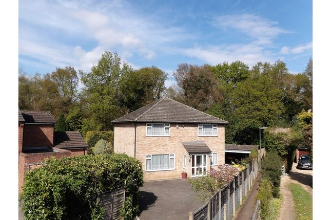 Thumbnail 3 bedroom detached house for sale in Bourne Road, Virginia Water