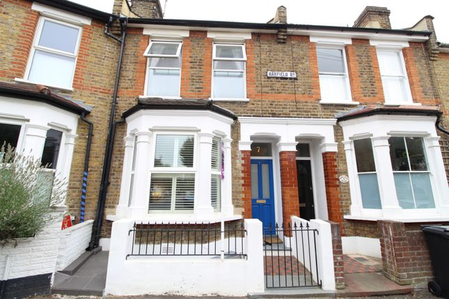 Thumbnail Terraced house for sale in Barfield Road, London